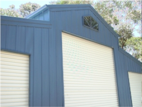 sheds and garages for domestic use